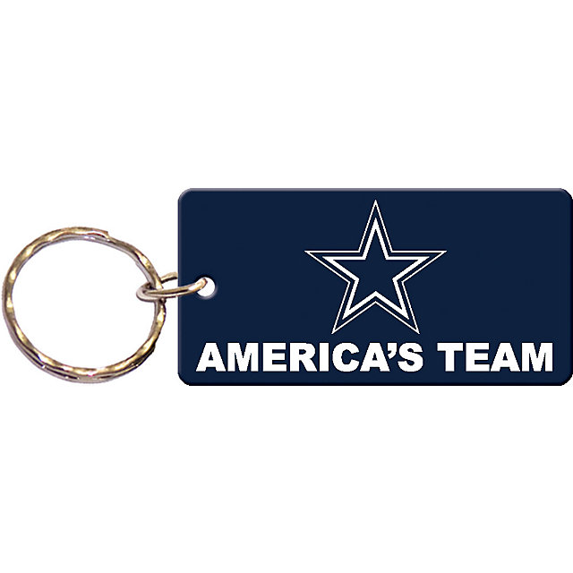 Dallas Cowboys America's Team Keychain