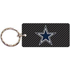 Dallas Cowboys Acrylic Carbon Keychain