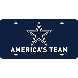 Dallas Cowboys America's Team Expression License Plate