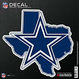 Dallas Cowboys All Surface State of Texas Decal