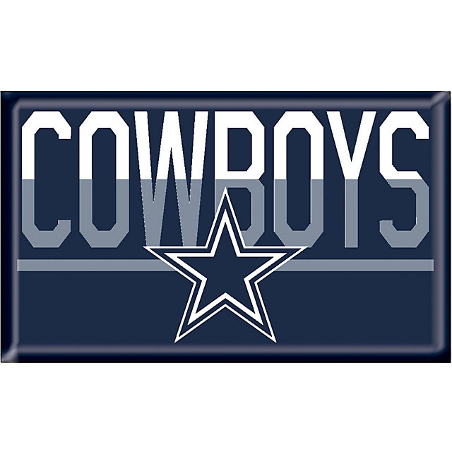 Dallas Cowboys Duo Tone Domed Magnet