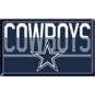 Dallas Cowboys Duo Tone Domed Magnet