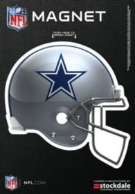 Dallas Cowboys 3x5 Helmet Magnet