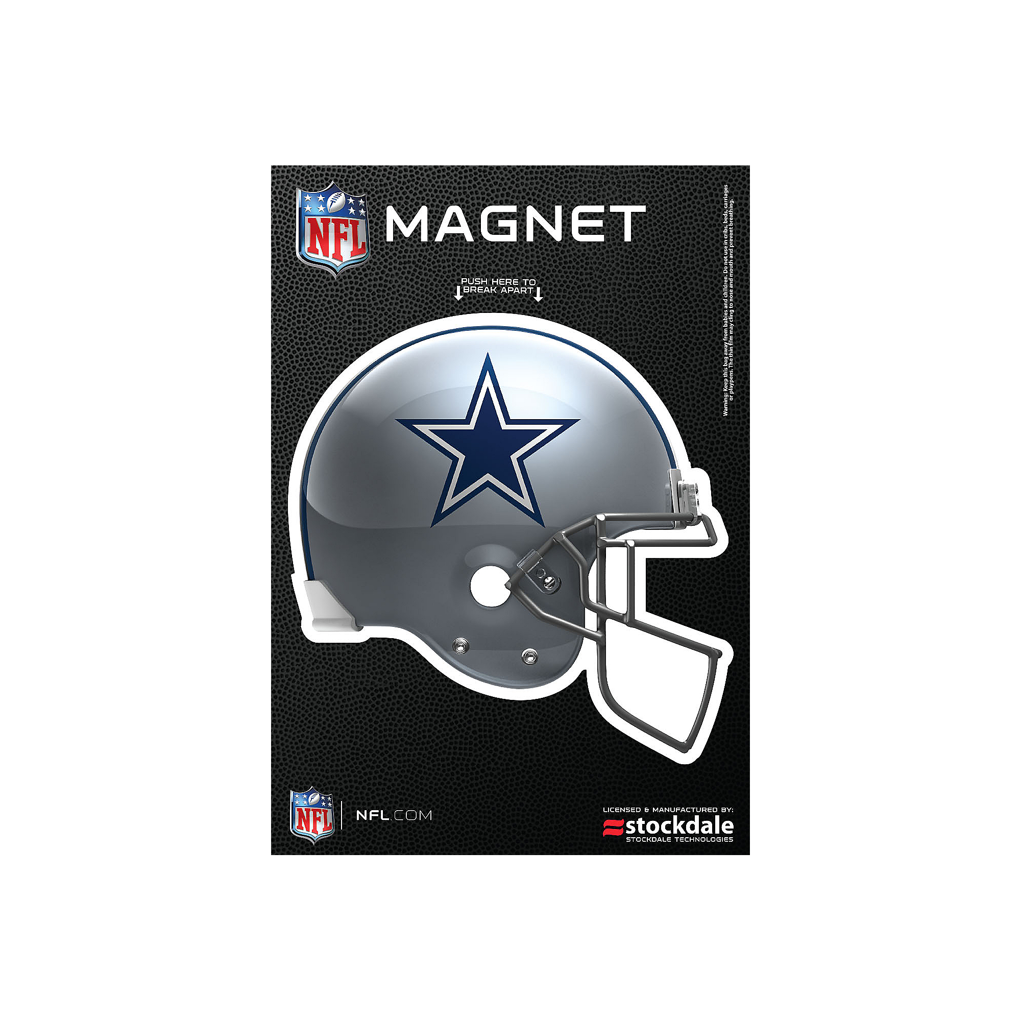 Dallas Cowboys 3x5 Helmet Magnet