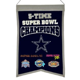 Dallas Cowboys Champions Banner
