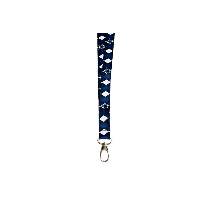 Dallas Cowboys Argyle Print Lanyard