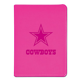 Dallas Cowboys Pink Faux Leather Journal