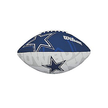 Dallas Cowboys Junior Super Grip Rubber Football