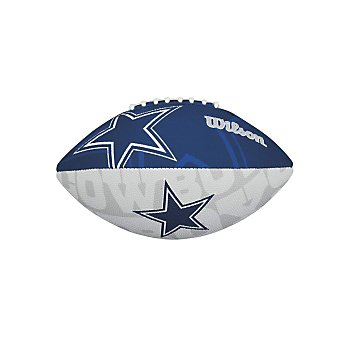 Dallas Cowboys Junior Super Grip Rubber Football