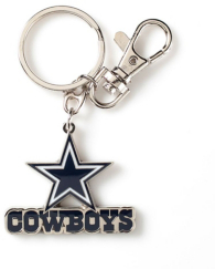 Dallas Cowboys New Heavy Weight Logo Keyring