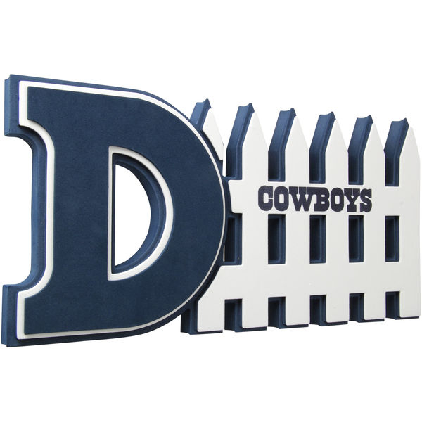 Dallas Cowboys D-Fence Foam Sign