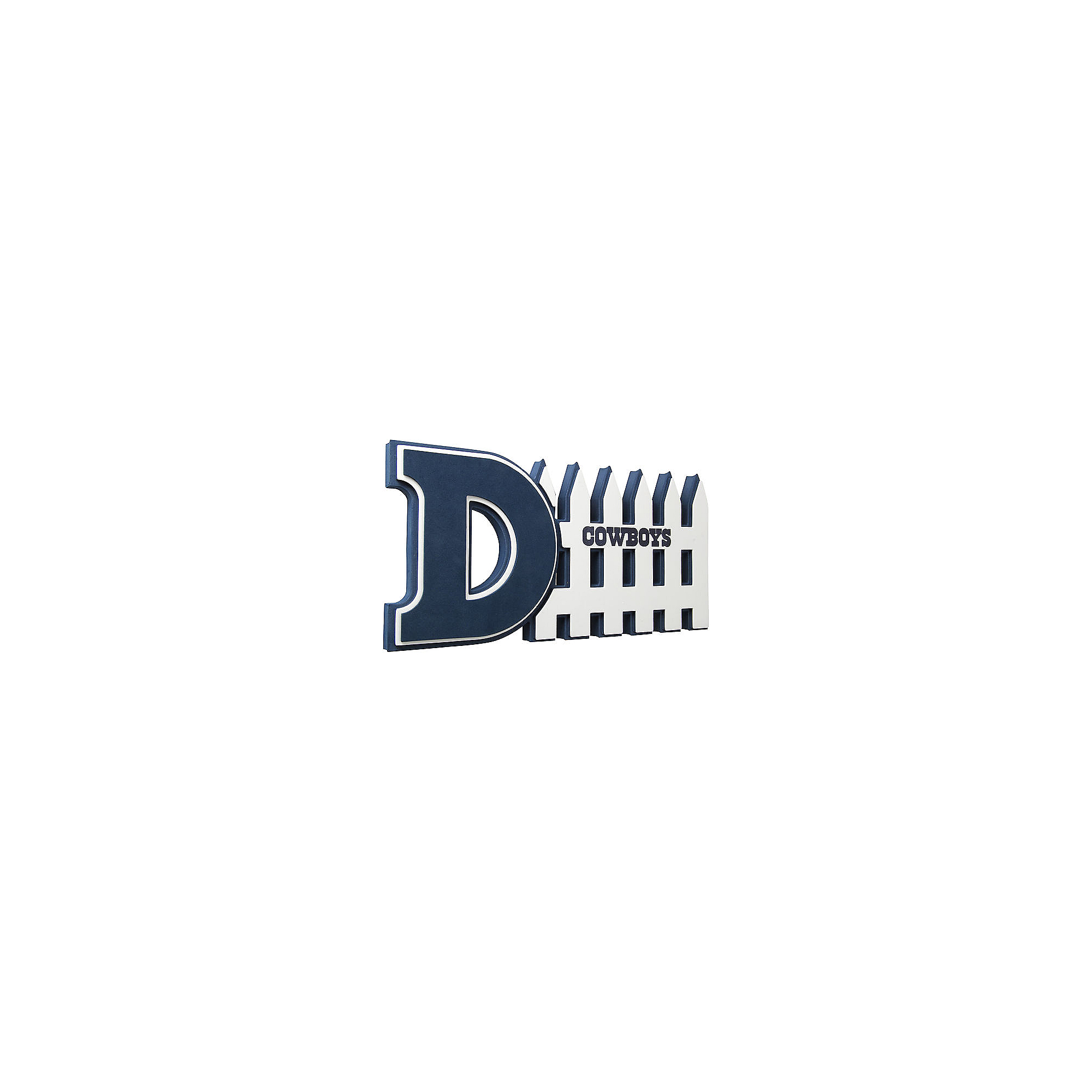 Dallas Cowboys D-Fence Foam Sign