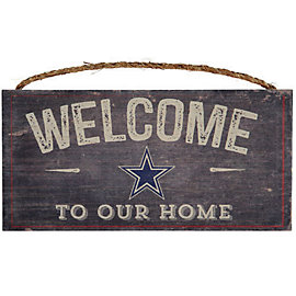 Dallas Cowboys Welcome Home Sign