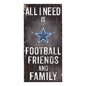 Dallas Cowboys Friends and Family Sign