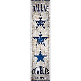 Dallas Cowboys Heritage Banner Sign