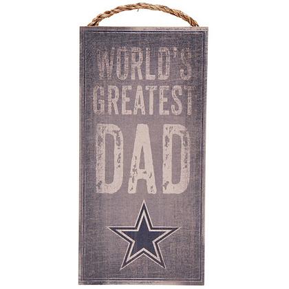 Dallas Cowboys World S Greatest Dad Sign Home Decor Office Accessories Catalog Pro