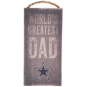 Dallas Cowboys World's Greatest Dad Sign