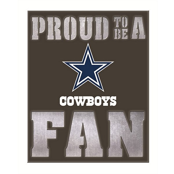 Dallas Cowboys Back Lit Metal Wall Art
