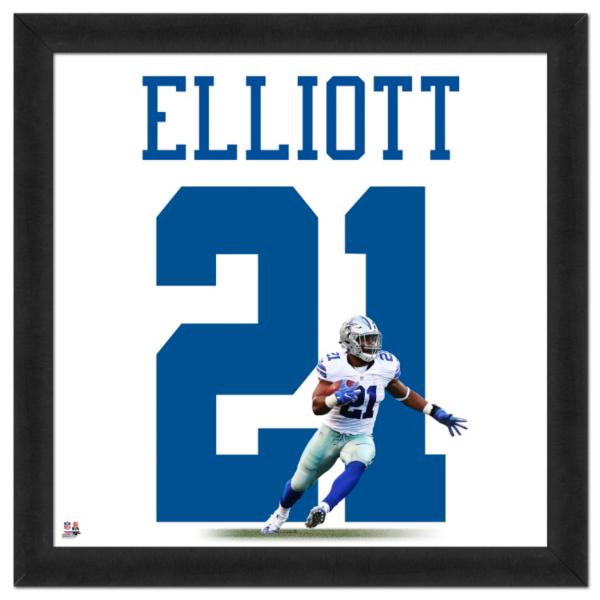 Dallas Cowboys Ezekiel Elliott Uniframe
