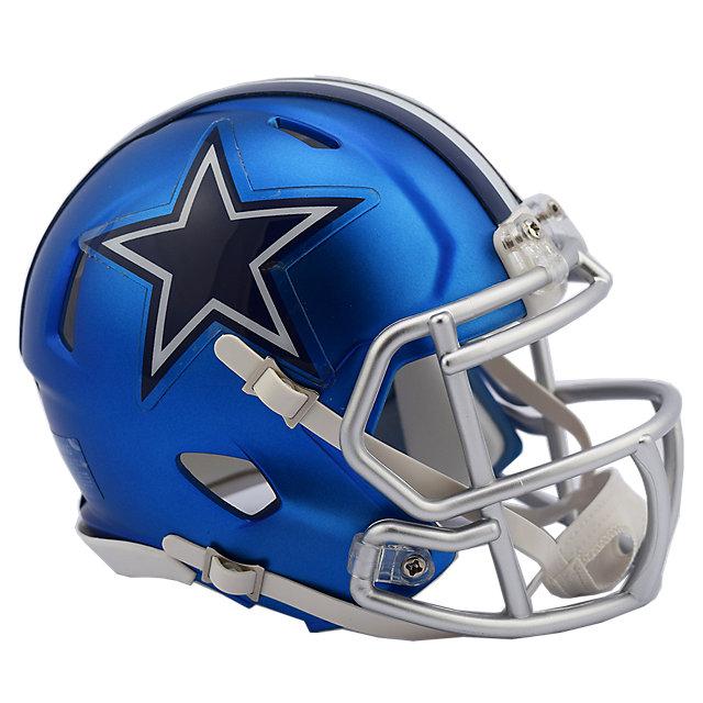 Dallas Cowboys Blaze Mini Helmet Helmets Collectibles