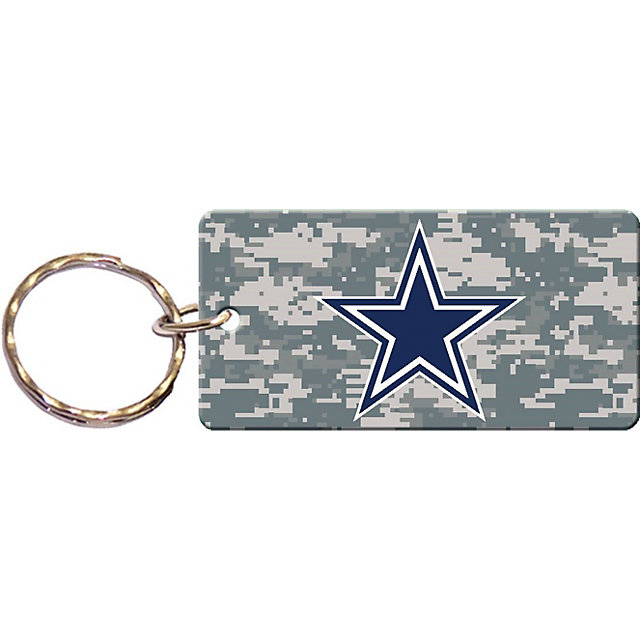 Dallas Cowboys Camo Keychain