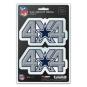 Dallas Cowboys 4x4 Decal Set