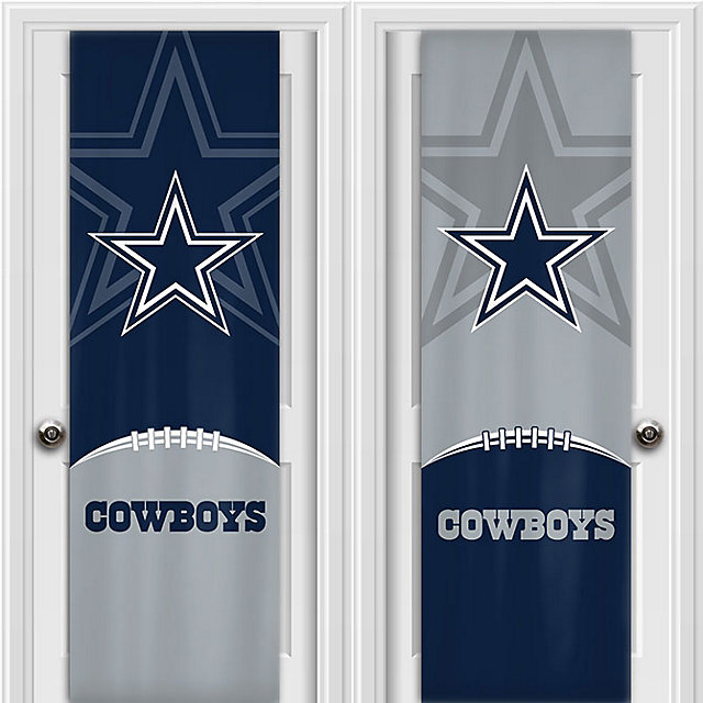 Dallas Cowboys 2-Sided Fabric Door Wrap
