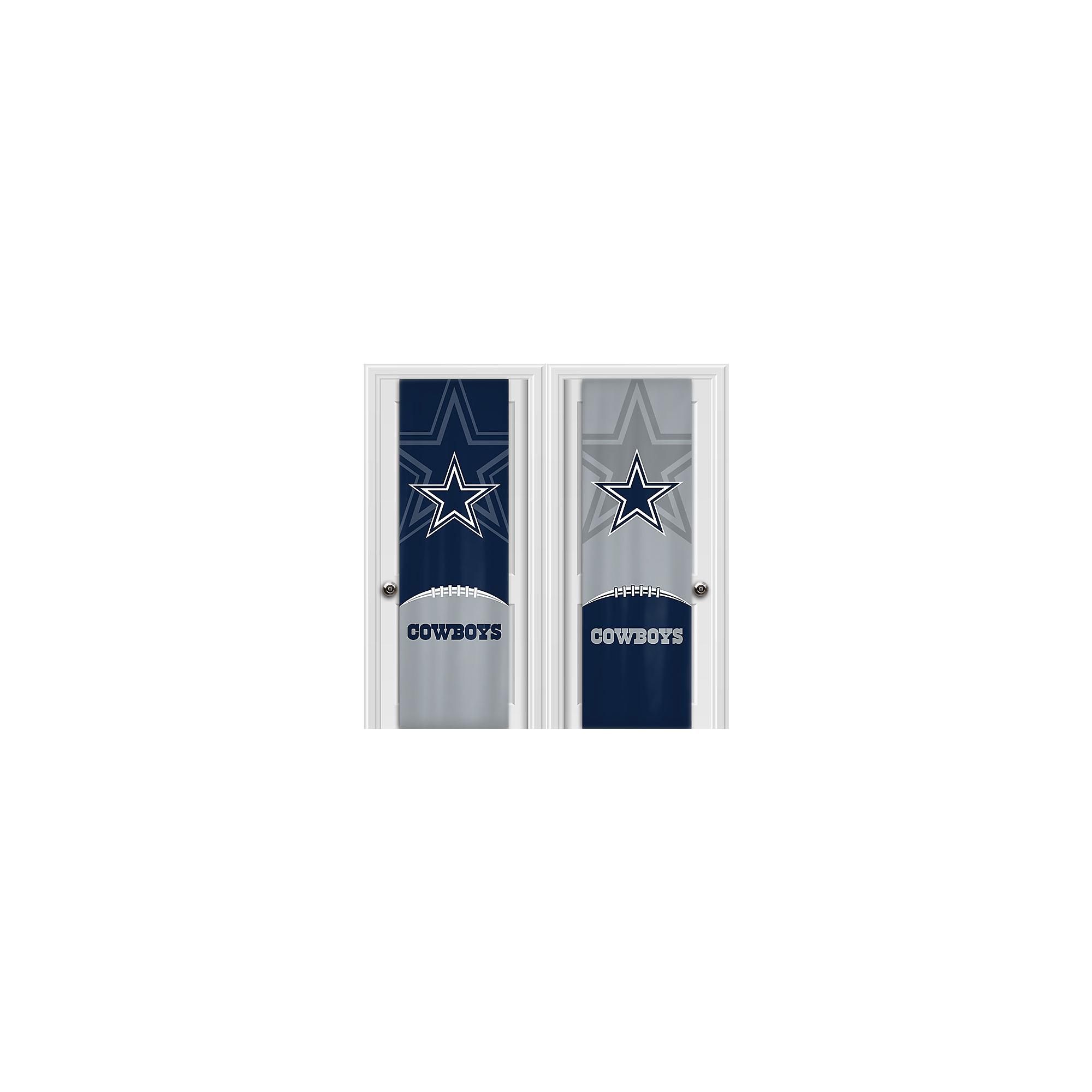 Dallas Cowboys 2-Sided Fabric Door Wrap