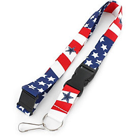 Dallas Cowboys Stars and Stripes Lanyard