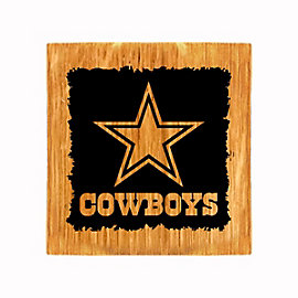 Dallas Cowboys Barrel Coaster/Bottle Opener