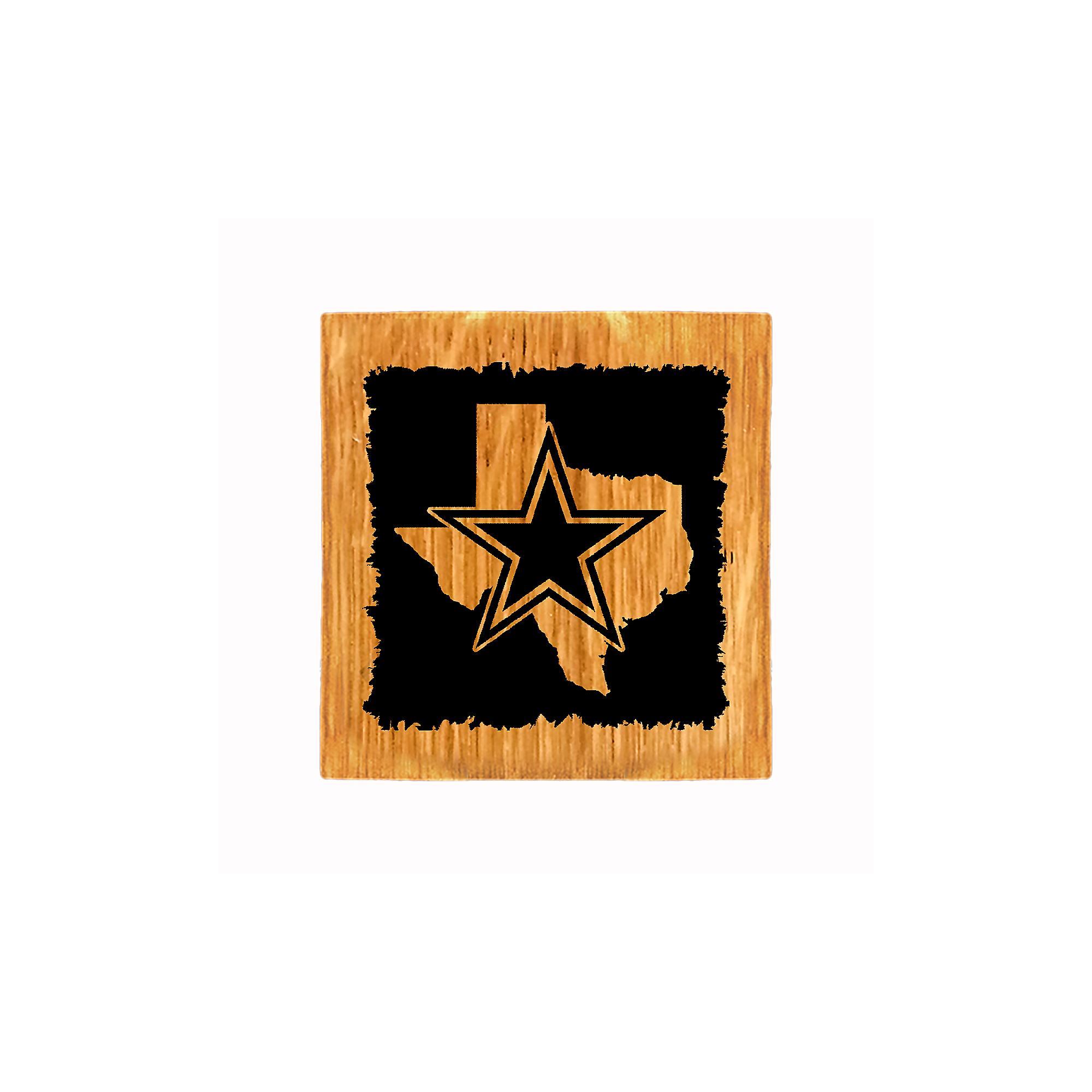 Dallas Cowboys State Coaster/Bottle Opener