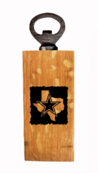 Dallas Cowboys Mini State Bottle Opener