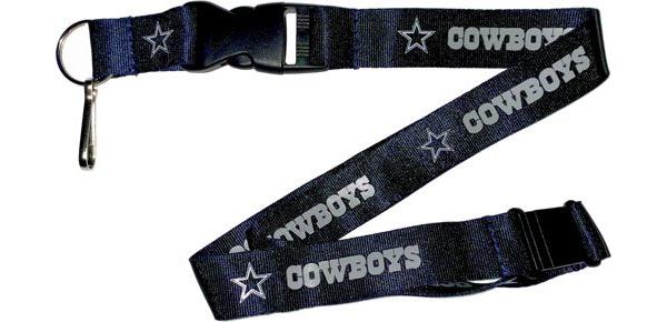Dallas Cowboys Solid Navy Team Lanyard