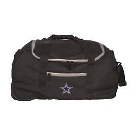 "Dallas Cowboys 22"" Mini Collapsible Wheeled Duffel Bag"