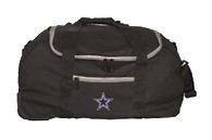 "Dallas Cowboys 22"" Mini Collapsible Wheeled Duffel Bag"