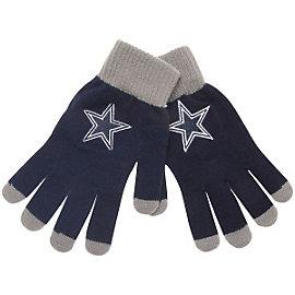 Dallas Cowboys Solid Knit Gloves