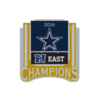 Dallas Cowboys 2016 NFC East Division Champs Pin