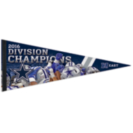 Dallas Cowboys 2016 NFC East Division Champs Pennant