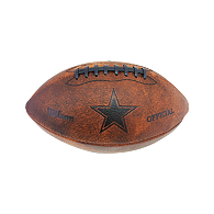 Dallas Cowboys Wilson Throwback Junior Football