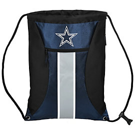 Dallas Cowboys Big Stripe Drawstring Backpack