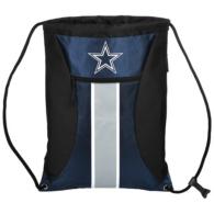 Dallas Cowboys Big Stripe Zippered Drawstring Bag