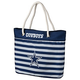 Dallas Cowboys Nautical Stripe Tote
