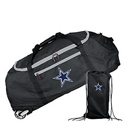 Dallas Cowboys Ultimate Collapsible Wheeled Duffel Bag