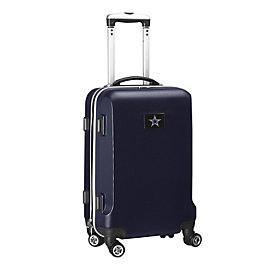 "Dallas Cowboys 20"" Navy Carry-on Spinner Luggage"
