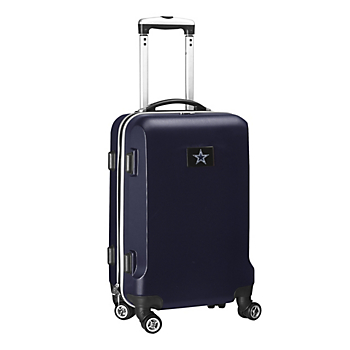 """Dallas Cowboys 20"""" Navy Carry-on Spinner Luggage"""