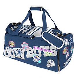 Dallas Cowboys Patches Duffel Bag