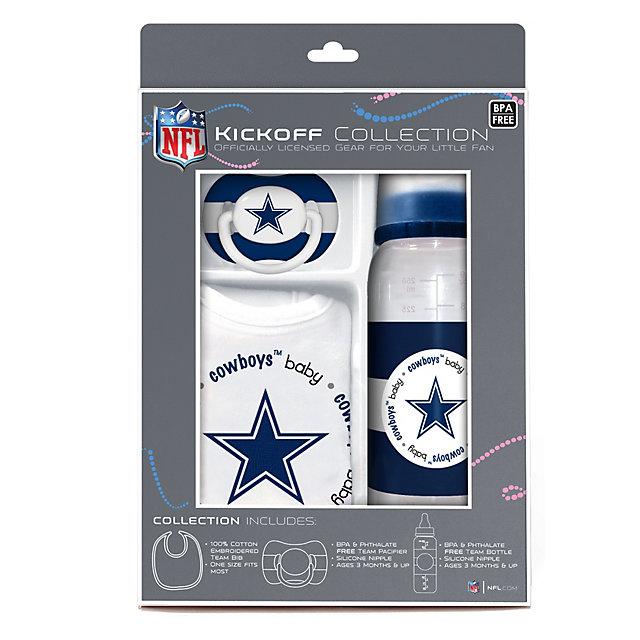 Infant gifts infant kids cowboys catalog dallas cowboys dallas cowboys baby gift set negle Choice Image