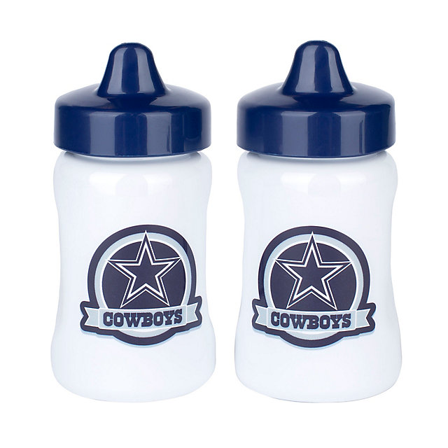 Dallas Cowboys 2-Pack Spill-Proof Sippy Cups