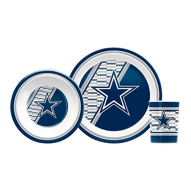 Dallas Cowboys Children's Dinner Set