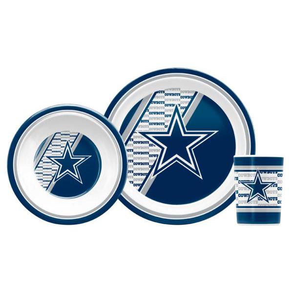 Dallas Cowboys Children's Dinner Set